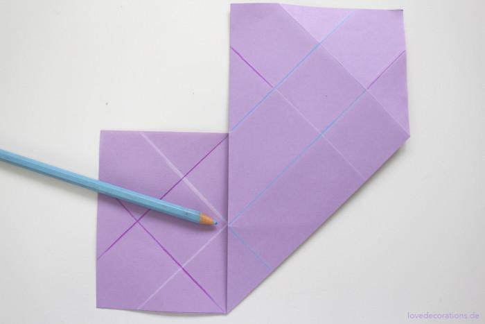 DIY Origami Vase #2 10