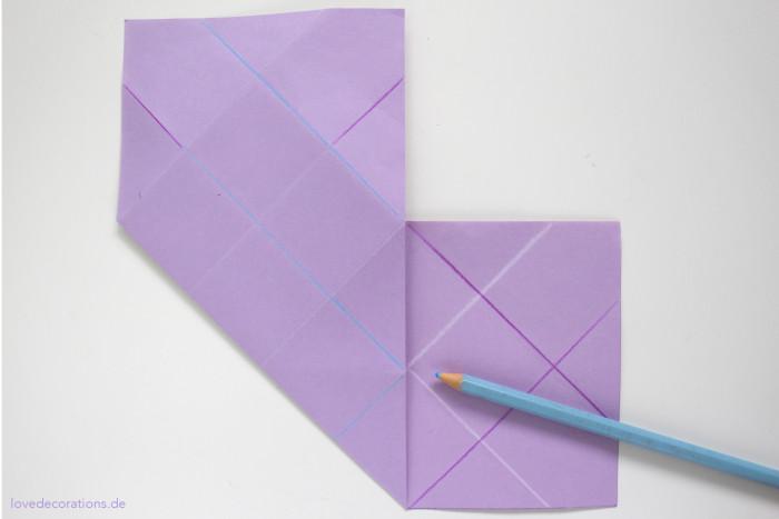DIY Origami Vase #2 12
