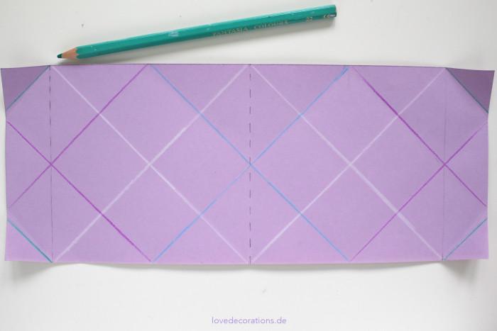 DIY Origami Vase #2 15