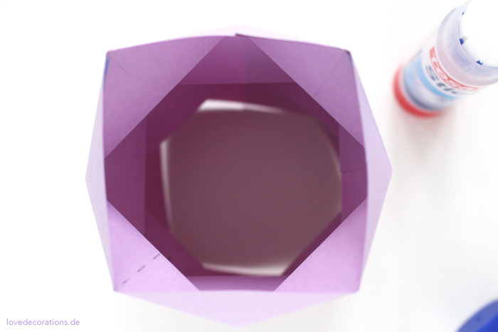 DIY Origami Vase #2 20