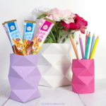 DIY Origami Vase #3