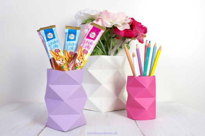 DIY Origami Vase #2 21