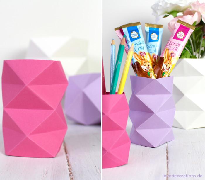 DIY Origami Vase #2 26