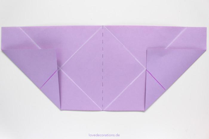 DIY Origami Vase #2 7