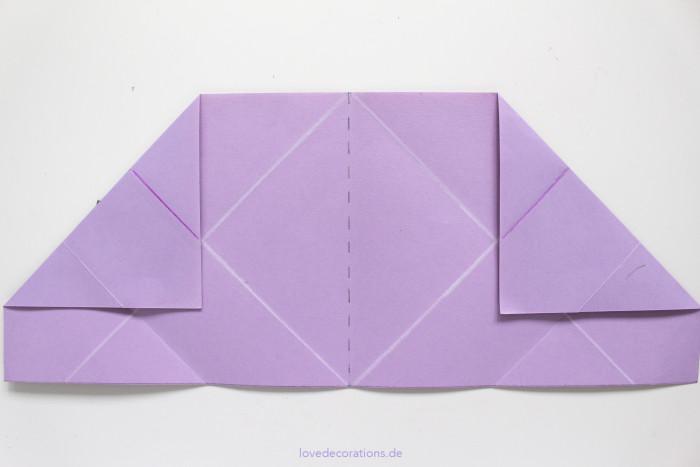 DIY Origami Vase #2 8