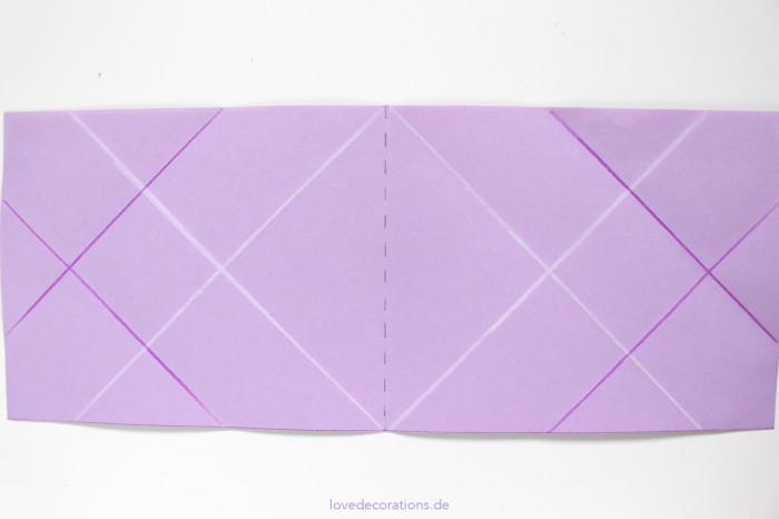 DIY Origami Vase #2 9