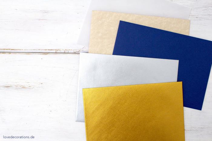 DIY bestickter Briefumschlag Ostern 14