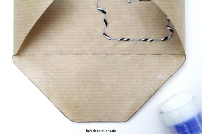 DIY bestickter Briefumschlag Ostern 4