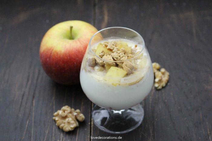 Walnuss-Apfel-Dessert 10