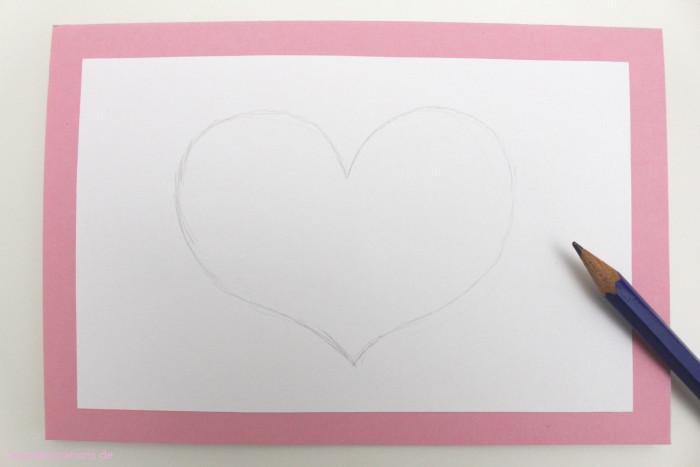 DIY Karte mit Schnurmotiven Muttertag 3