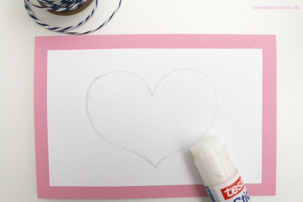 diy karte mit schnurmotiv zum muttertag love decorations. Black Bedroom Furniture Sets. Home Design Ideas