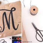DIY Geschenkverpackung für Kissen zum Muttertag mit Personello*