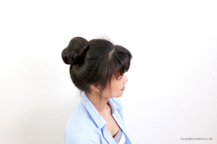 Hairbun mit Donut High 14