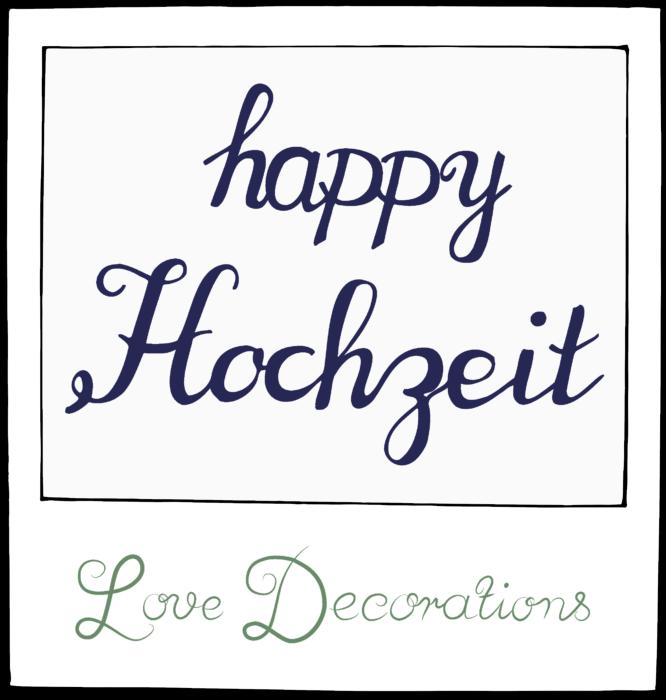 happy Hochzeit (Logo)