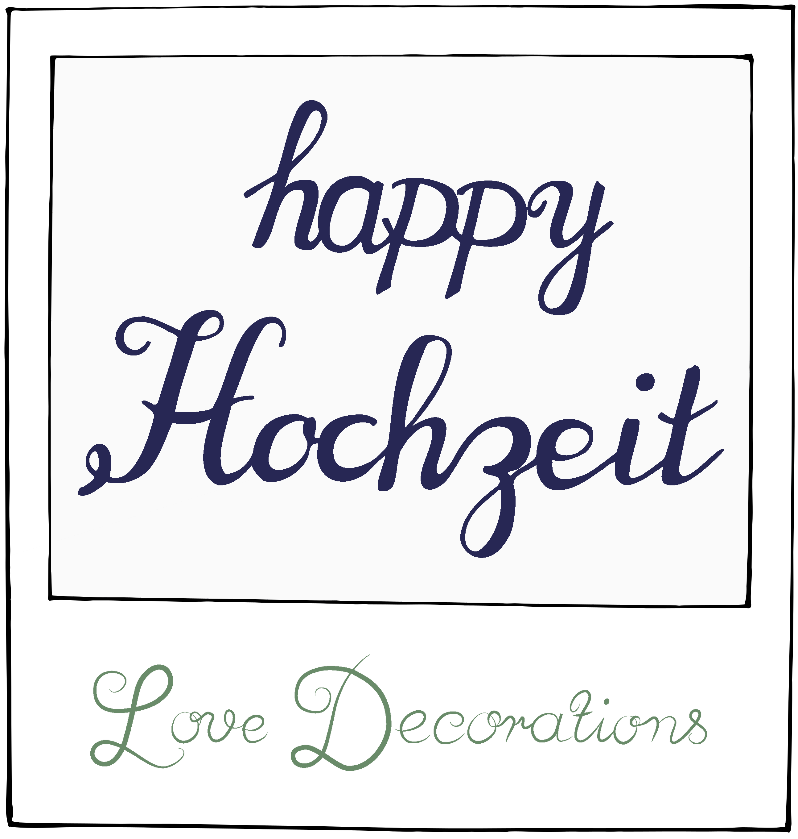 happy Hochzeit Linkparty
