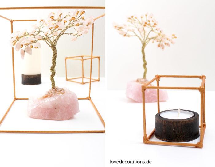 DIY Deko Cube aus Grillspießen