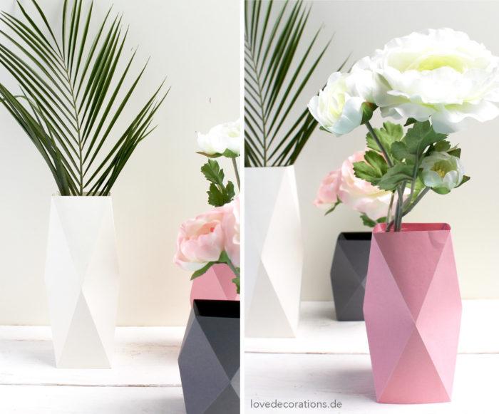 DIY Origami Vase #4