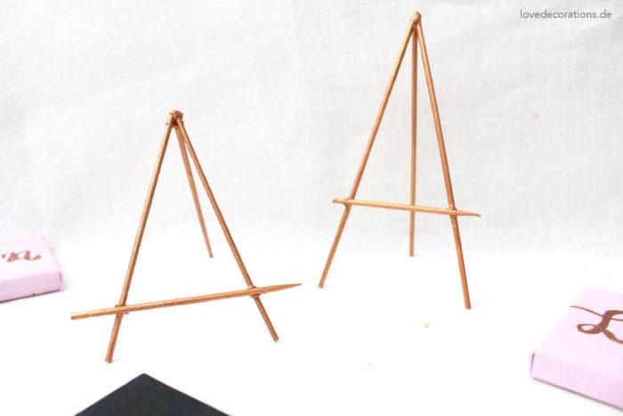 Tischkartenhalter aus Grillspießen