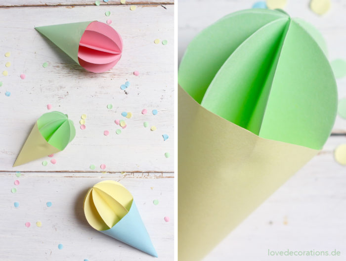 DIY Eis Anhänger