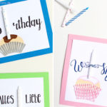 DIY Muffin Geburtstagskarte | Gastbeitrag