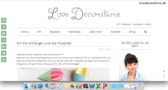 Doku, wie ein Blogpost entsteht 13