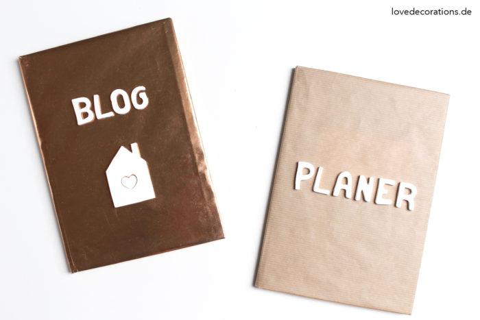 DIY Fimo Buchstaben für Notizbücher - Love Decorations