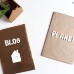 DIY Fimo Buchstaben für Notizbücher