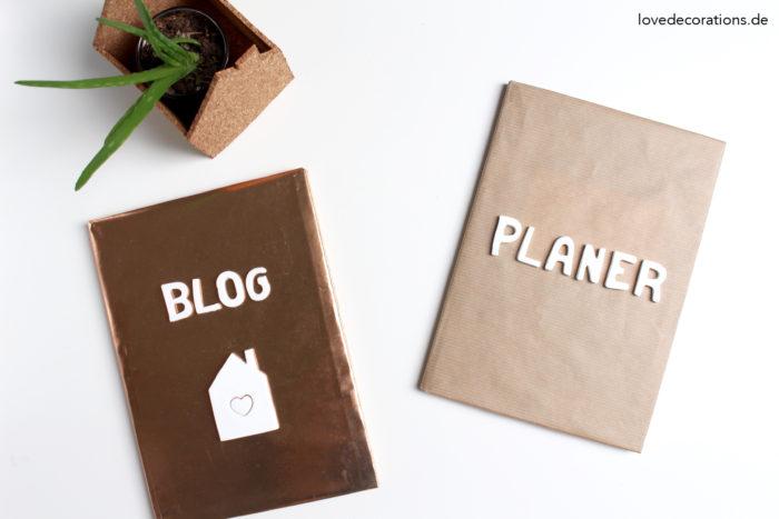DIY Fimo Buchstaben für Planer