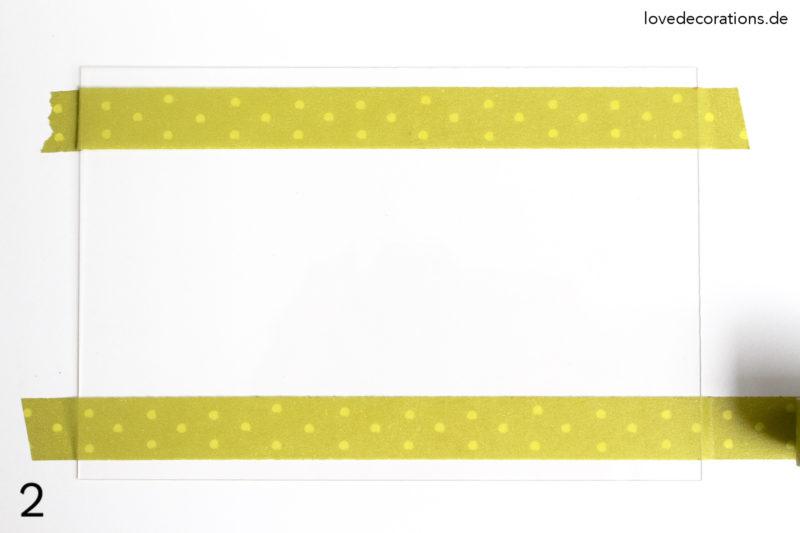 DIY Wanddeko Handlettering
