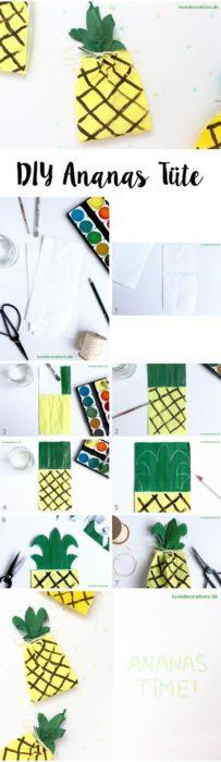 DIY Ananas Collage