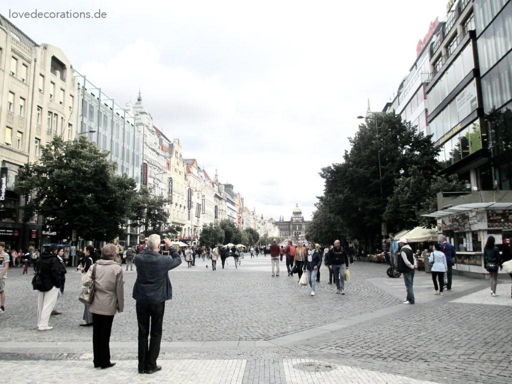 Wenzelplatz – Prag