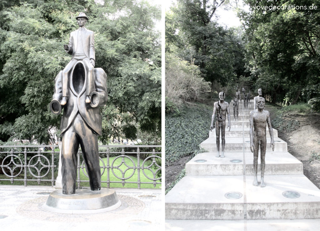 Franz Kafka Denkmal | Denkmal an die Opfer des Kommunismus