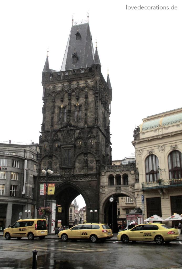 Schwarzer Pulverturm – Prag