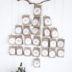 DIY Adventskalender in Tannenbaumform mit Personello* + Give Away