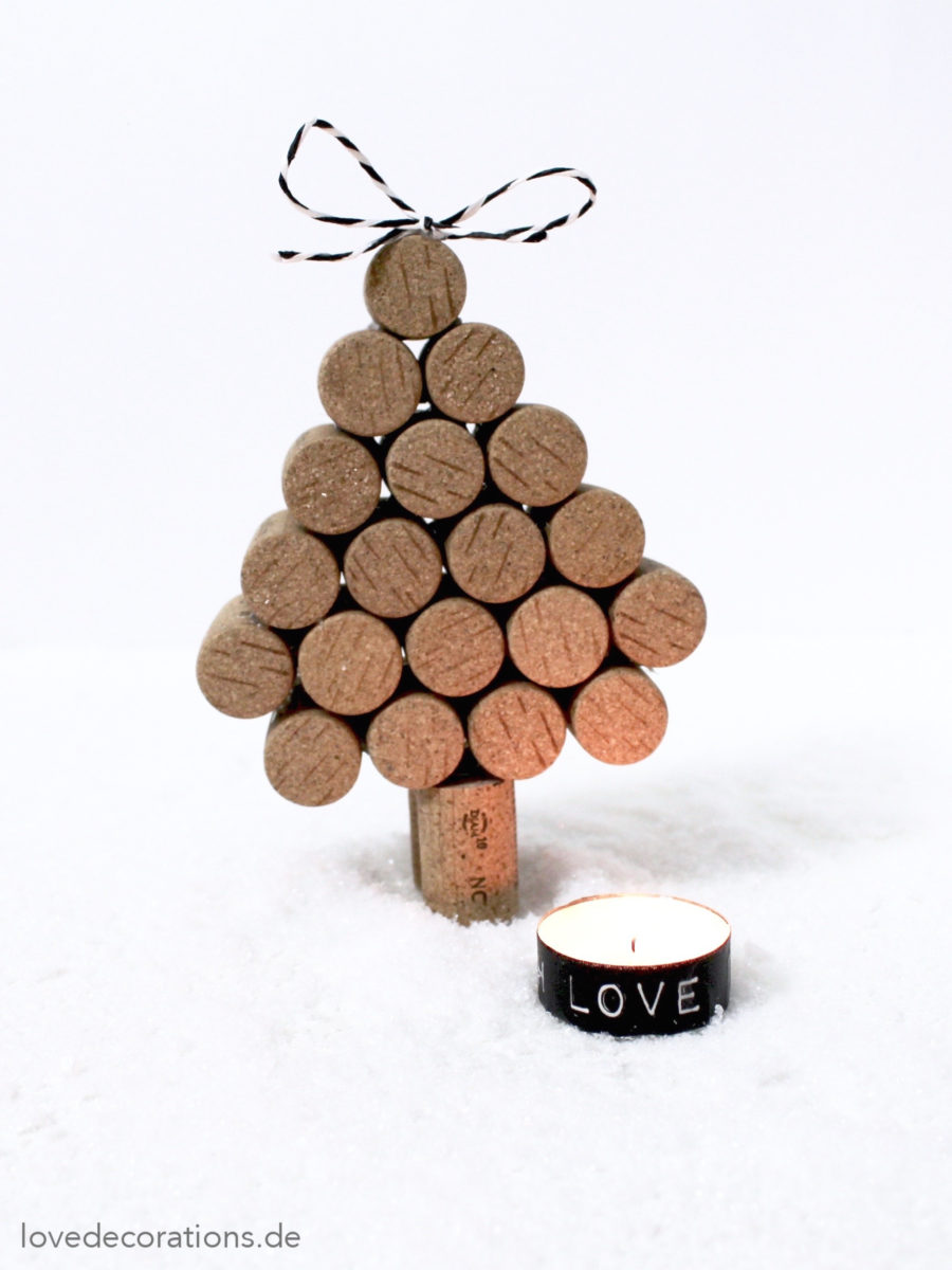 DIY Tannenbaum aus Korken | DIY Christmas Tree made of Cork
