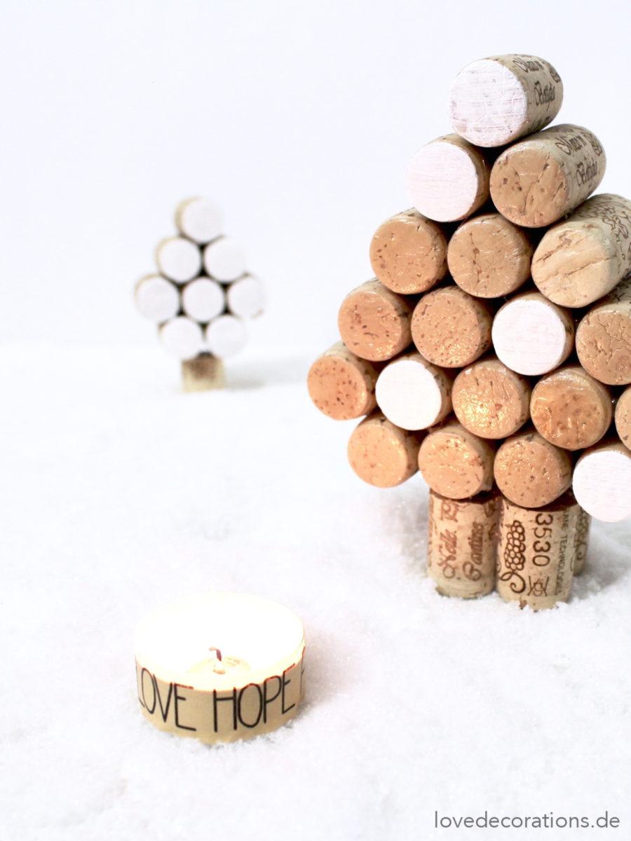 DIY Tannenbaum aus Korken | DIY Christmas Tree made of Cork