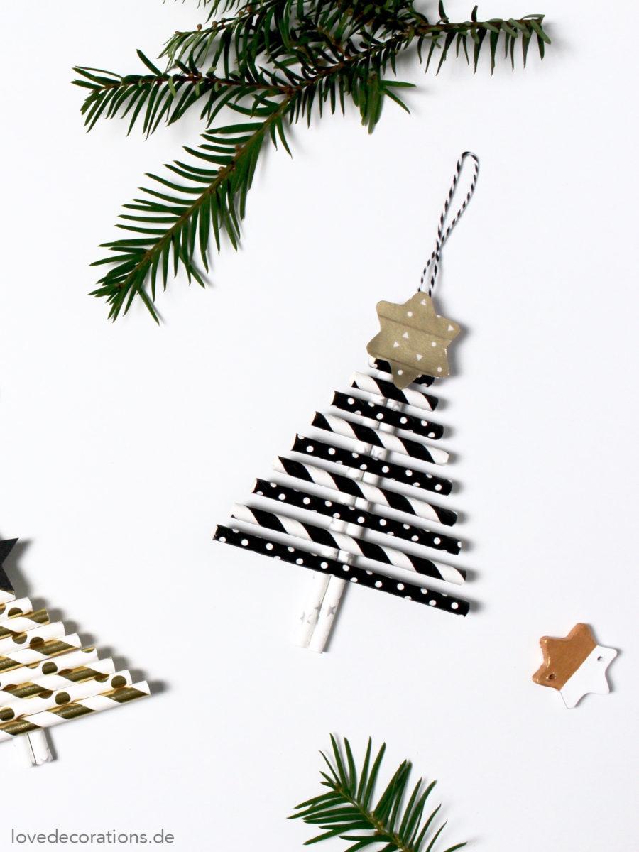 diy weihnachtsanh nger aus papier strohhalmen blogger adventssonntags kalender love decorations. Black Bedroom Furniture Sets. Home Design Ideas