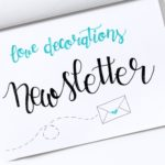Der Love Decorations Newsletter – endliiiich…!