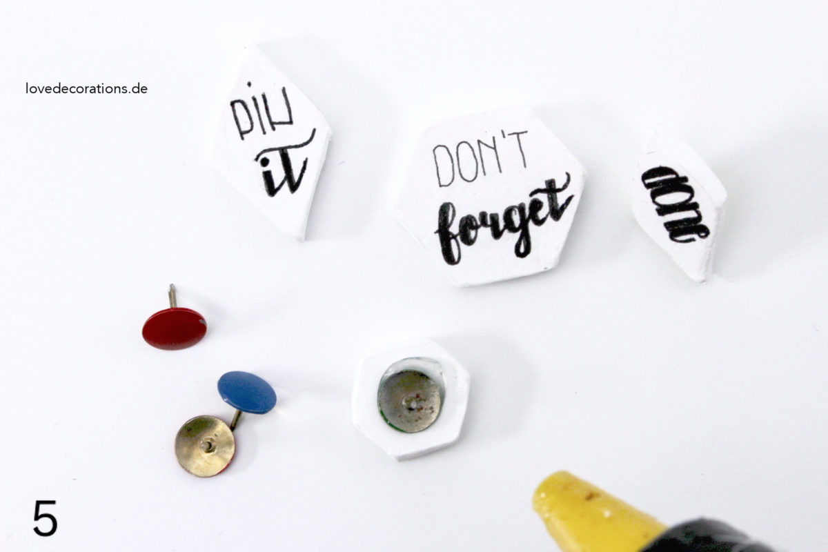 DIY Fimo Push Pin | DIY Clay Push Pin