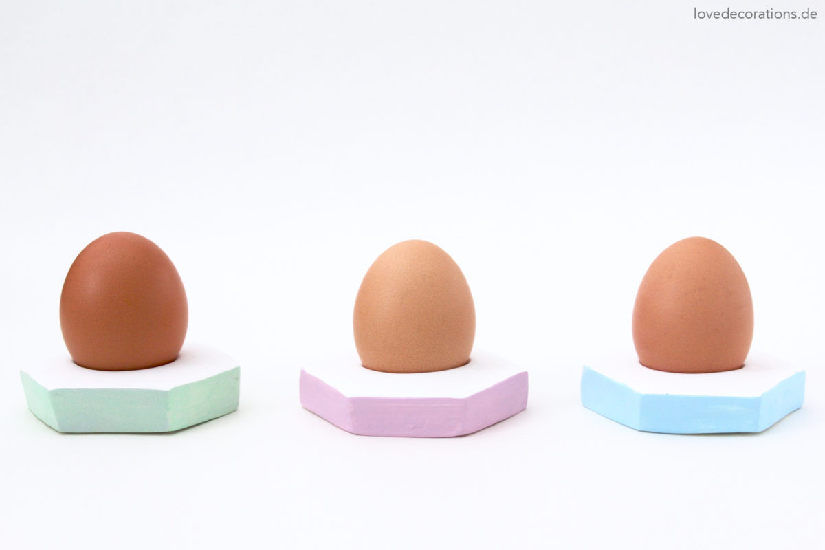 DIY Fimo Eierbecher | DIY Egg Cups