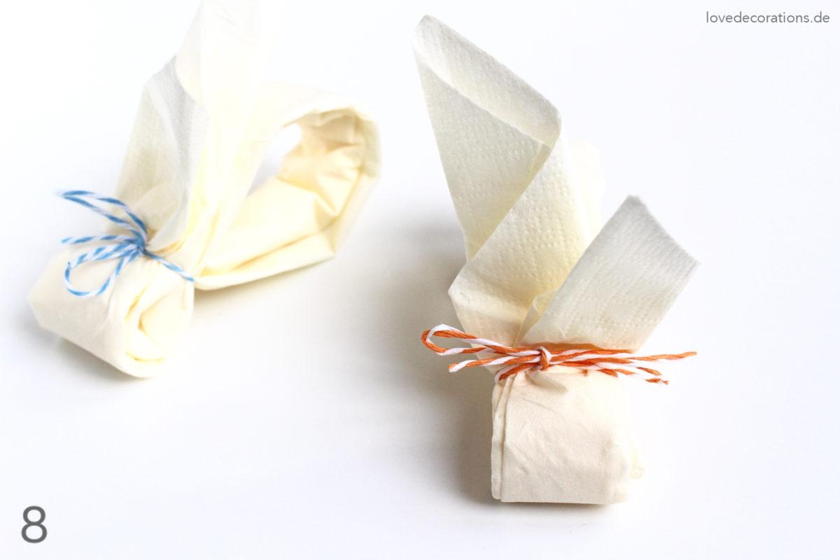 DIY Napkin Folding Bunny #2 | DIY Servietten Häschen #2