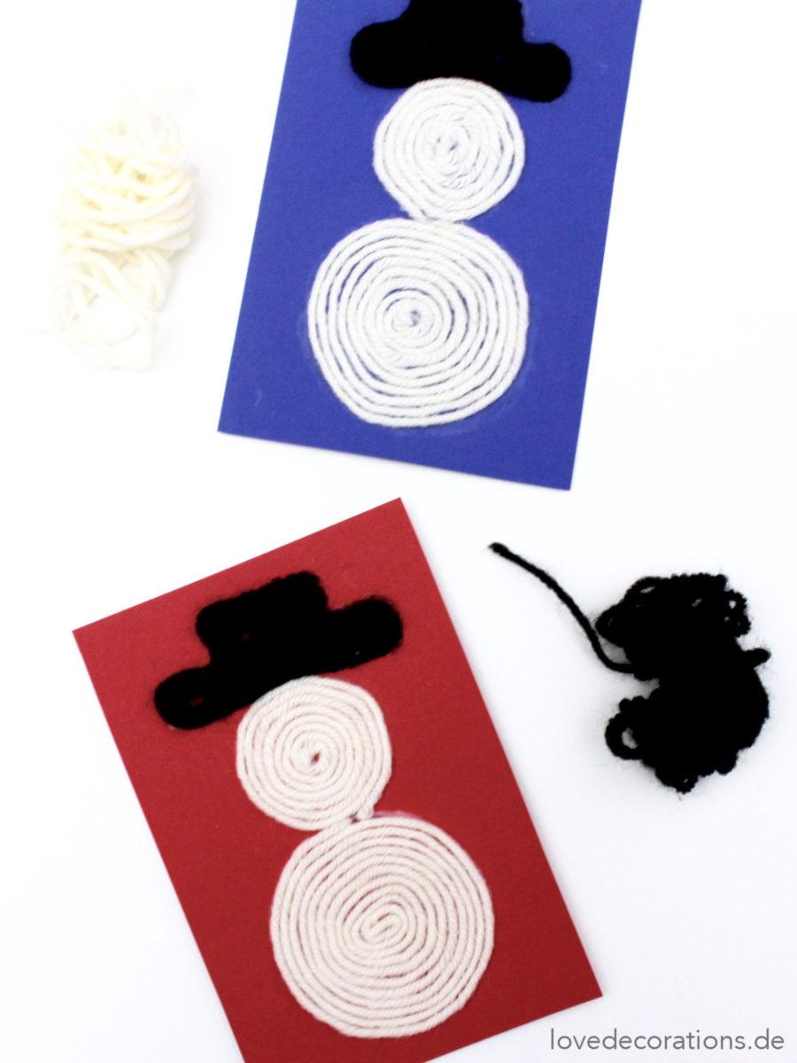DIY Wool Snowman | DIY Woll-Schneemänner