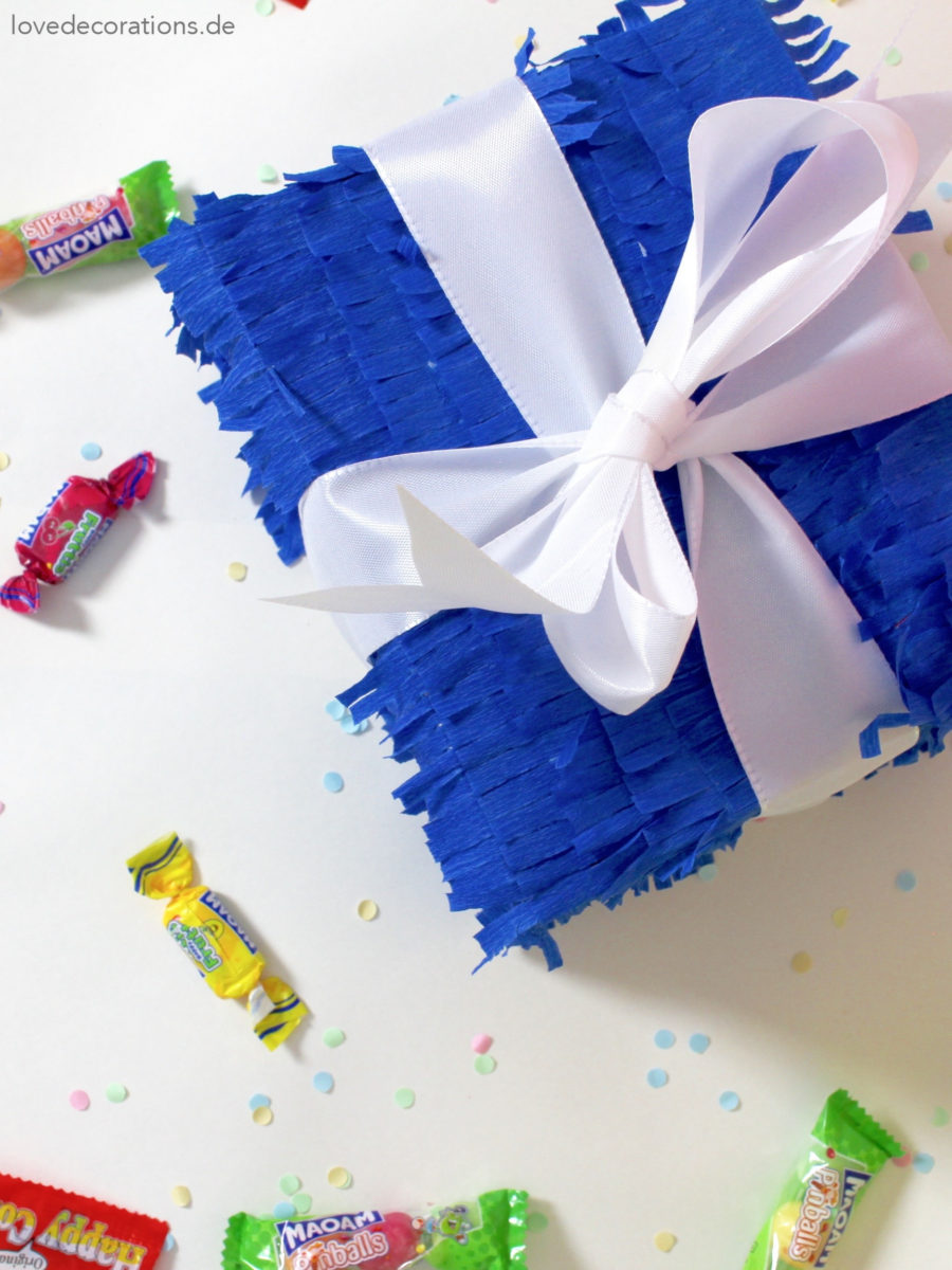 DIY Piñata als Geschenkbox | DIY Gift Box Piñata