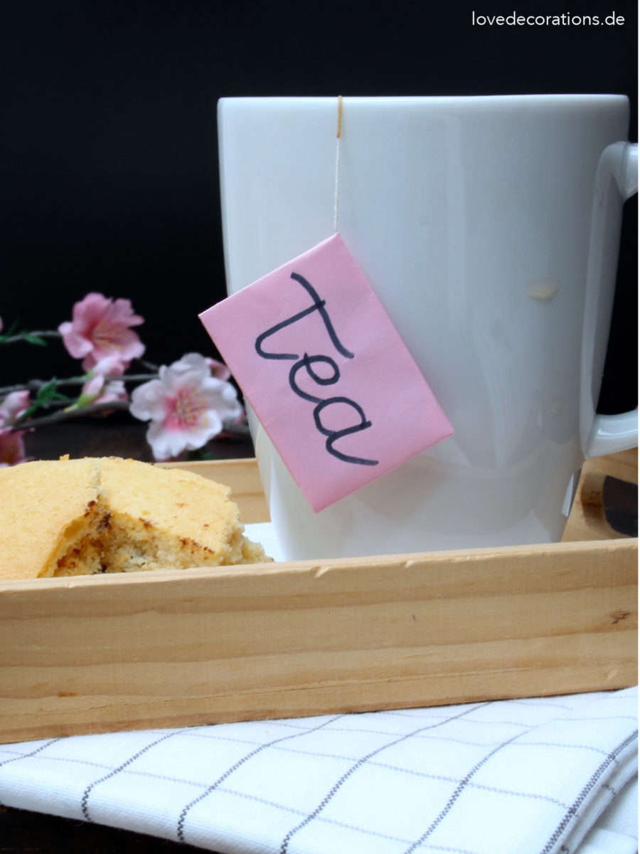 DIY Briefumschlag am Teebeutel | DIY Tea Bag Envelope