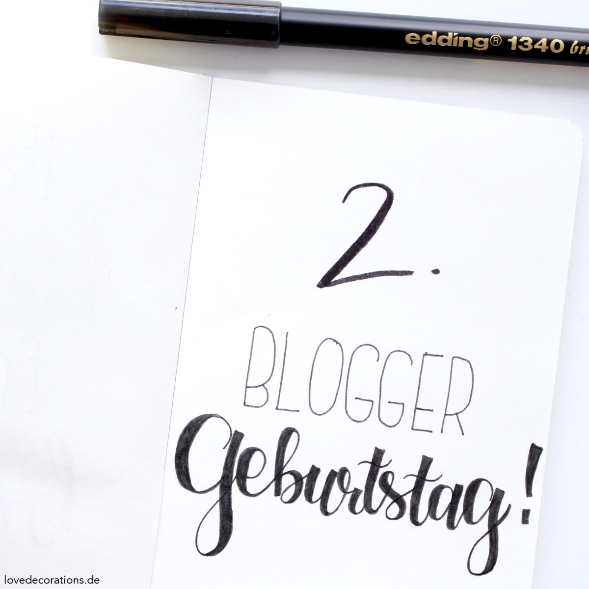 2. Blogger-Geburtstag | Love Decorations