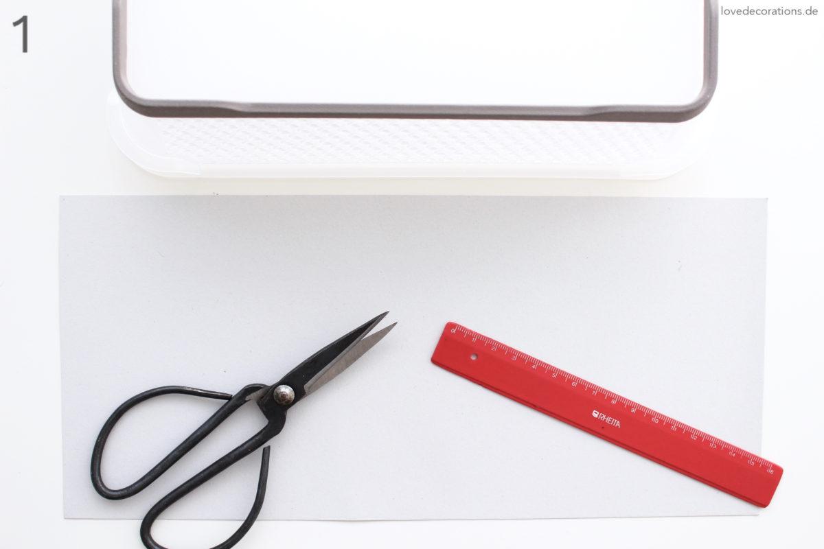 DIY Fachtrenner | DIY Divider Storage