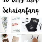 10 DIYs zum Schulanfang