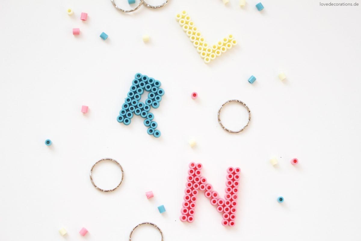 DIY Bead Key Chain | DIY Schlüsselanhänger aus Bügelperlen