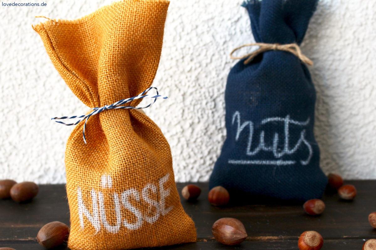 DIY Mini Jute Bag | DIY Mini-Jutesack (ohne Nähen)