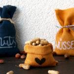 DIY Mini-Jutesack (ohne Nähen) | Nuts for Gifts*